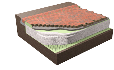 Aquaflow (SuDs) sustainable urban drainage systems from Forterra Building Products