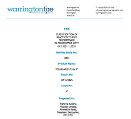 Surebrick_Soft_SS_Fire_Classification from Forterra Building Products